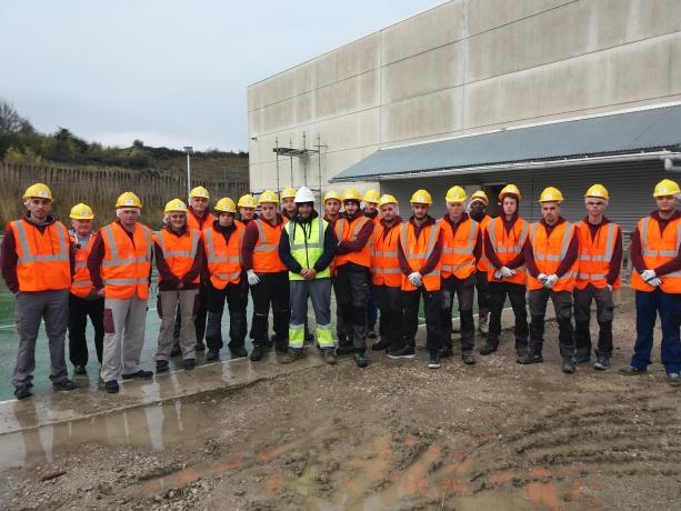 Alumnos de BTP-CFA Aquitania realizan un intercabmio estudiantil en Navarra