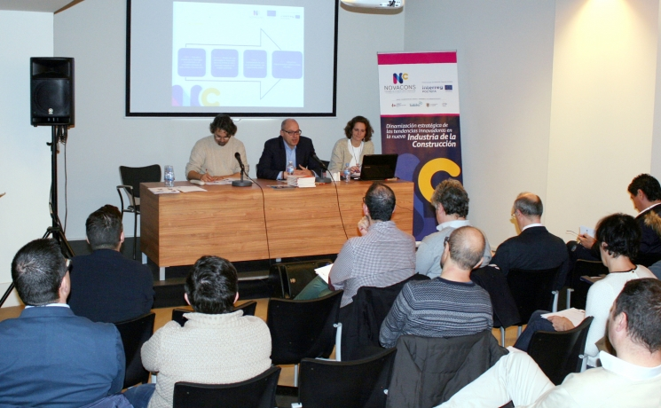 Primeros pasos del proyecto europeo  Novacons para dinamizar el sector de la construcción en Navarra-Aquitania