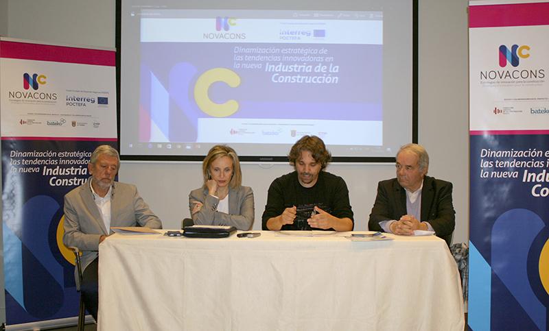 Presentado el proyecto europeo Novacons, que promueve un nuevo modelo de construcción para Navarra
